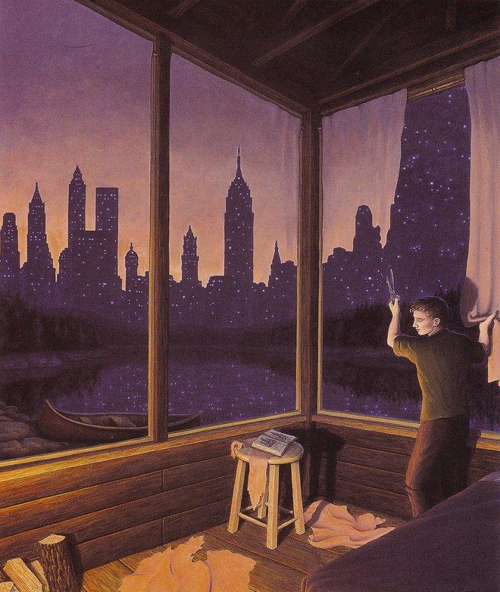оптические иллюзии от роба гонсалеса (12)