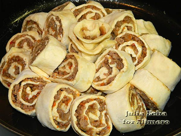 Слоеное тесто с фаршем рецепты выпечки