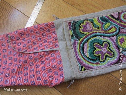 Мастер-класс Поделка изделие Вышивка Вышивание бу футболками Бисер Канва Нитки Ткань фото 22