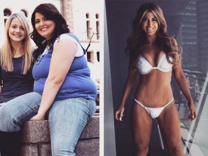Она сбросила 60 кг за 2 года…