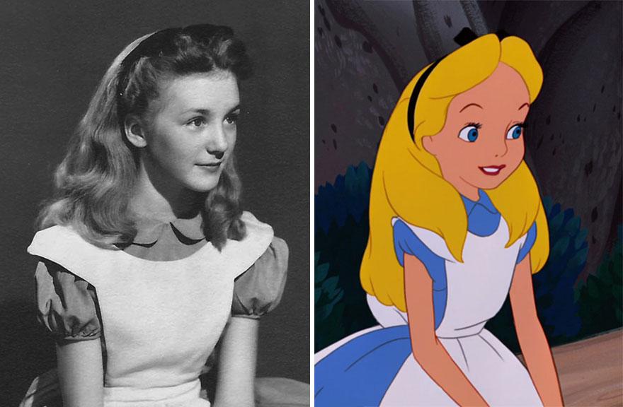Как мультипликаторы использовали реальную девочку для создания «Алисы в Стране чудес»