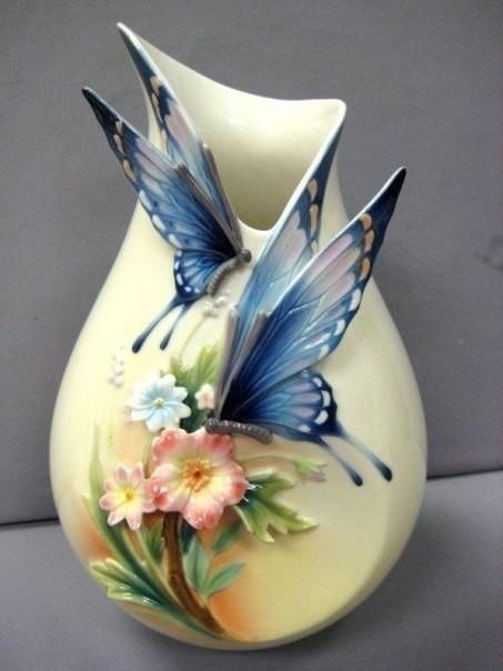 Шикарные вазы. Браво мастера…