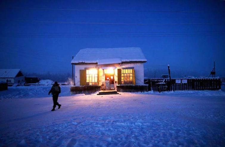 село Оймякон, Оймякон самое холодное место в мире, Дорога Костей, Оймякон фото, Оймякон 2014