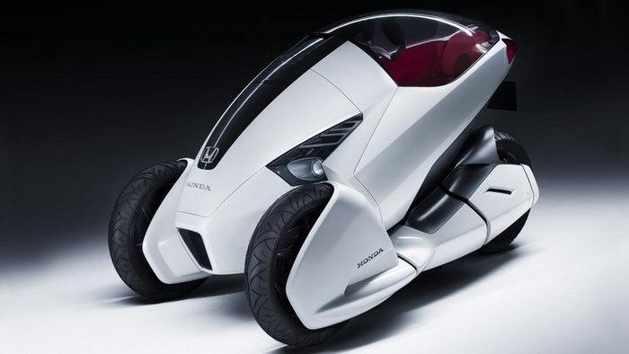 Автомобиль-мотоцикл от компании HONDA