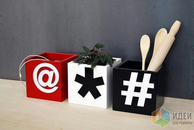 Декоративные коробочки-подставки