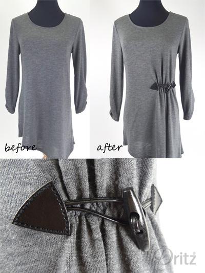Как приталить свитер или тунику