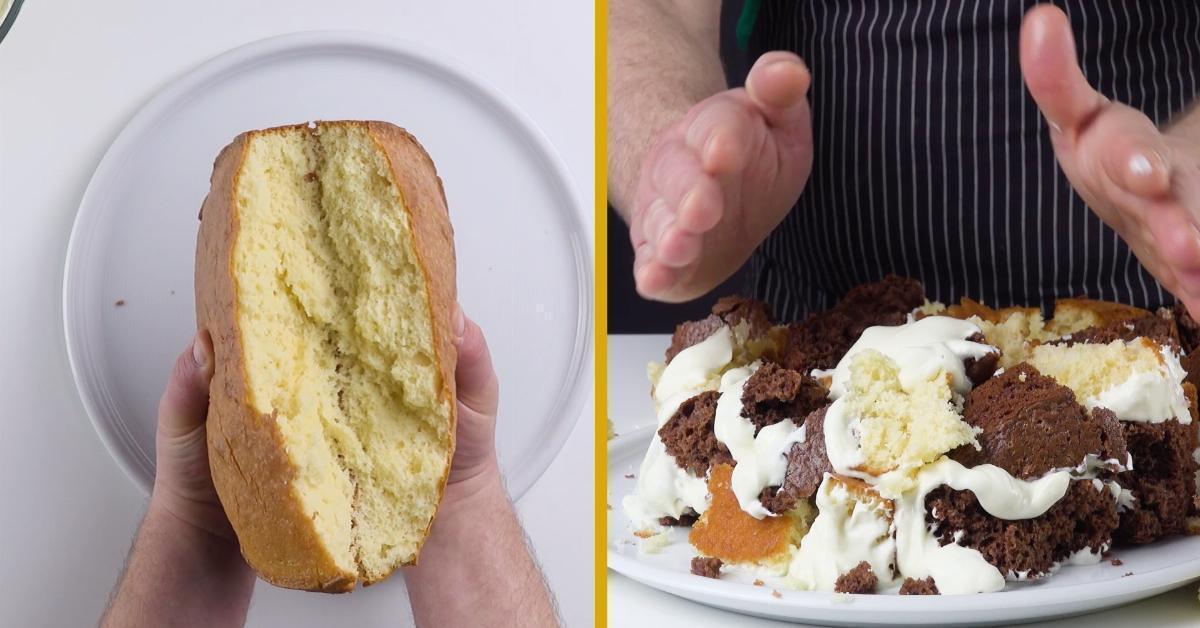 Графские развалины: Готовим вкуснейший торт с нежным сметанным кремом