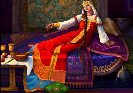Кем была Марья-Маревна?