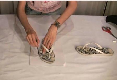Как сделать обувь