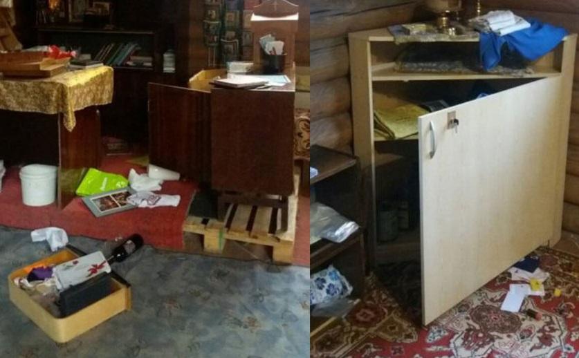 В Киеве ограбили и осквернили православный храм