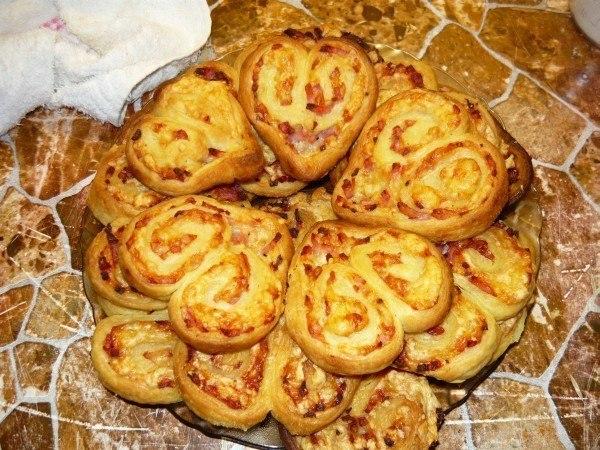 Горячая закуска - печенье с мясом : вид и вкус просто потрясающие!