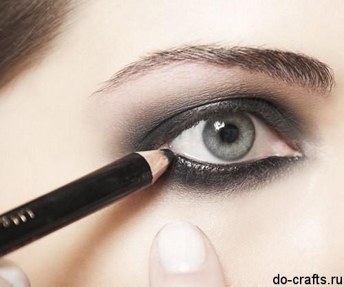 Как делать макияж глаз6