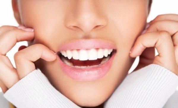 Белоснежные зубки