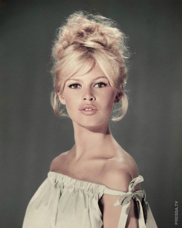 Интересные факты из жизни Бриджит Бардо - символа эпохи 60-х
