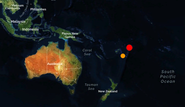 Самоа. Землетрясение магнитудой 6.2