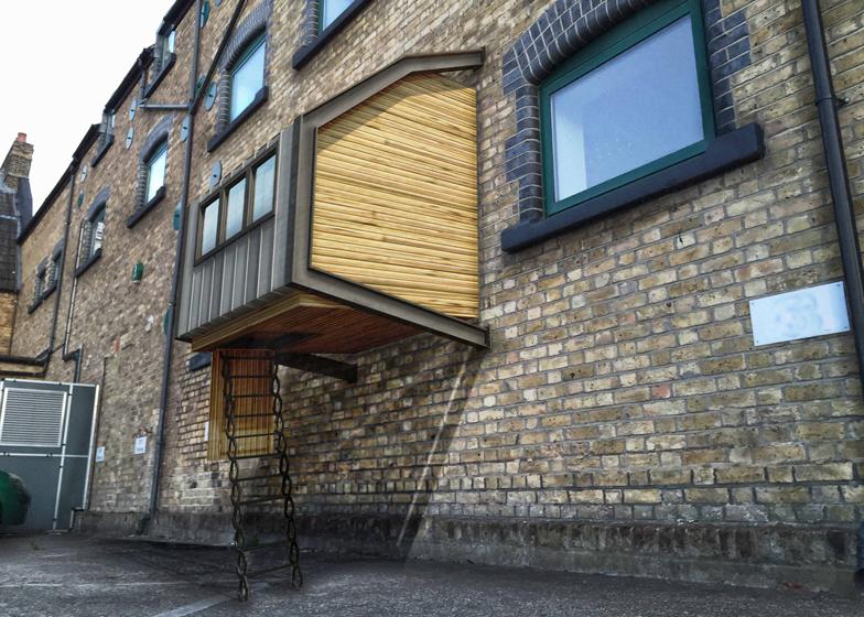 Подвесные приюты для бездомных