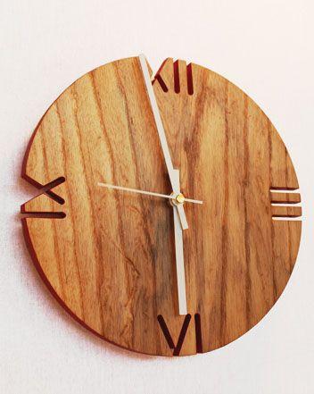 Часы из дерева (подборка)