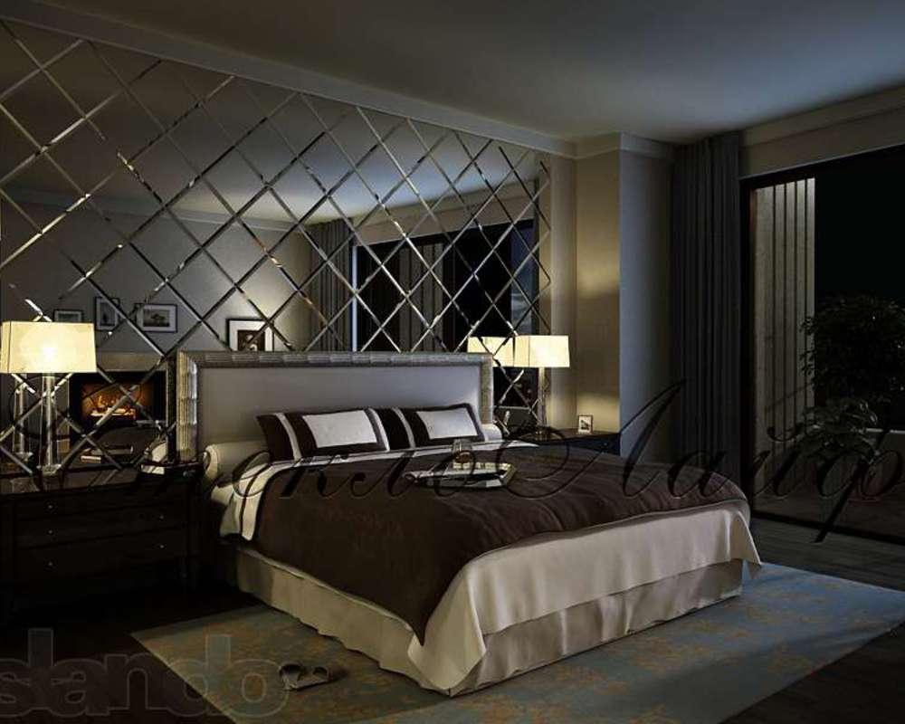 Зеркала в интерьере спальни фото