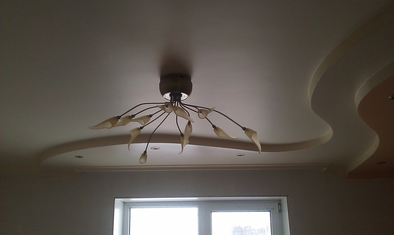 Фигурный потолок своими руками потолок, ремонт