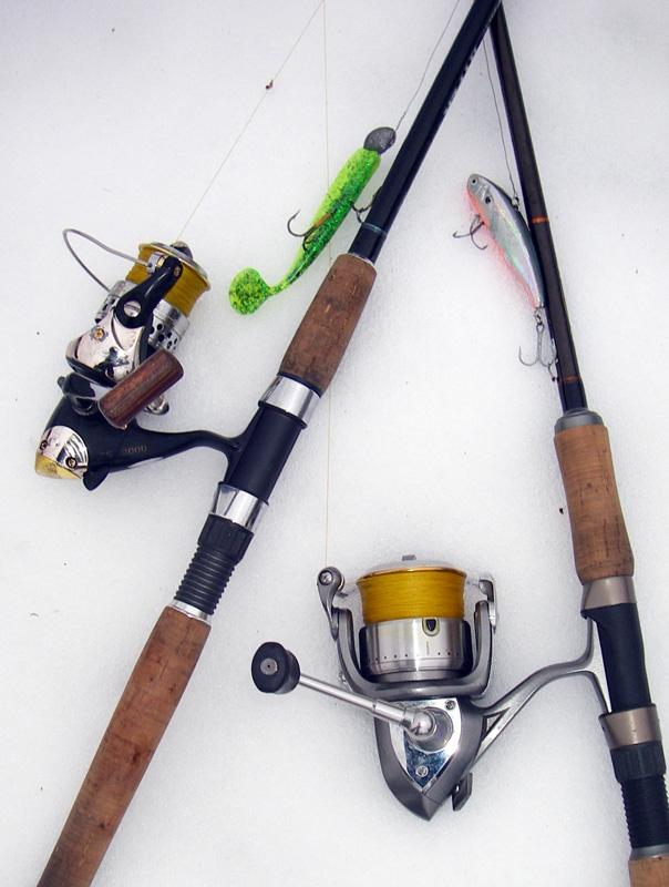 оснастить спиннинг к рыбалке