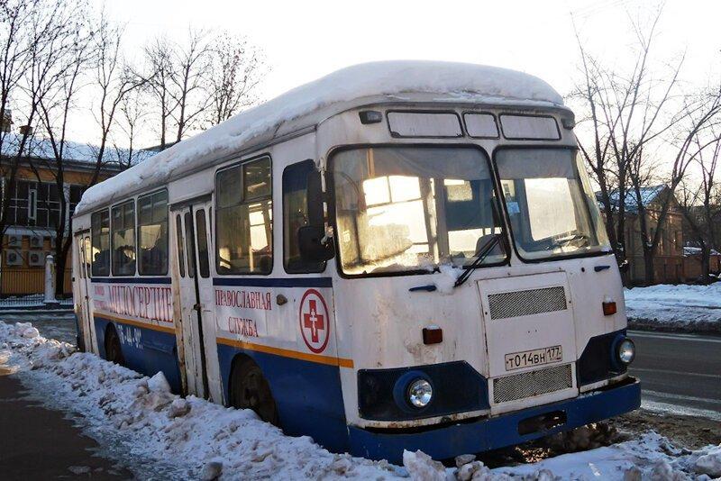 ЛиАЗ-677: Последние труженики столицы