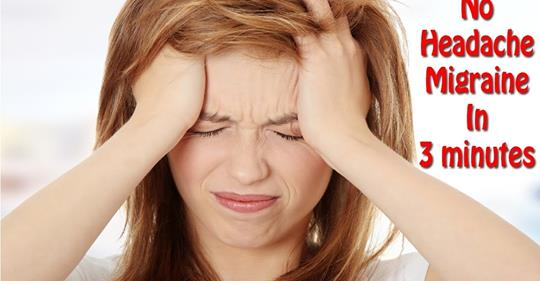 Как вылечить мигрень навсегда без каких-либо лекарств