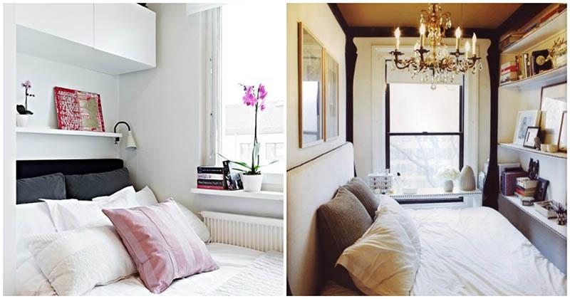 Маленькая спальня: продуманный интерьер с фото