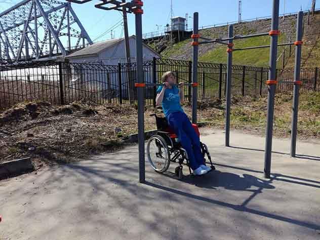 В Архангельске инвалида-колясочника не пустили на стадион