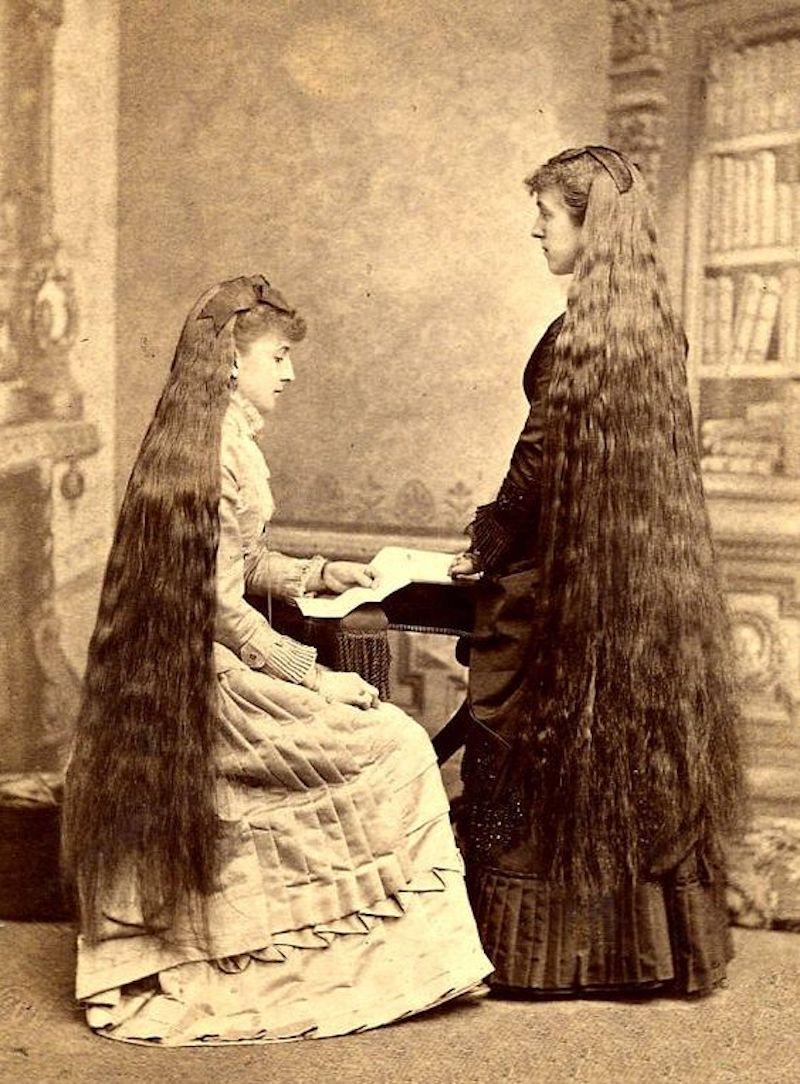Чарующее обаяние длинноволосых красавиц викторианской эпохи