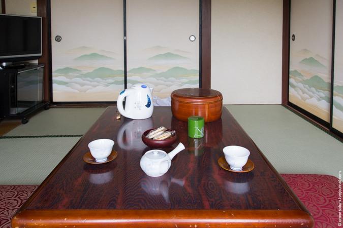 Фотопутешествие в Японию. Традиционная гостиница-рёкан