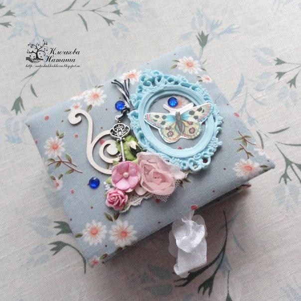 МК по созданию и декорированию коробочки-шкатулки для подарка.