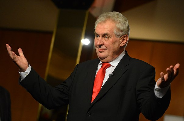 Президент Чехии: честно о Путине, Pussy Riot и Ходорковском