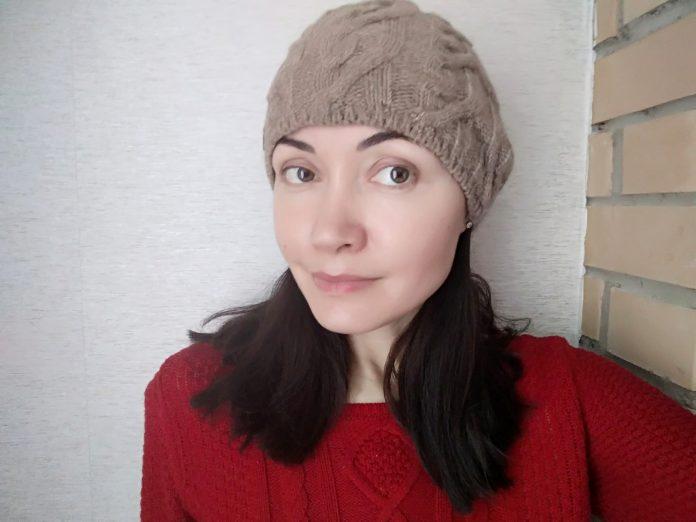 Утепляем вязаные шапочки флисом
