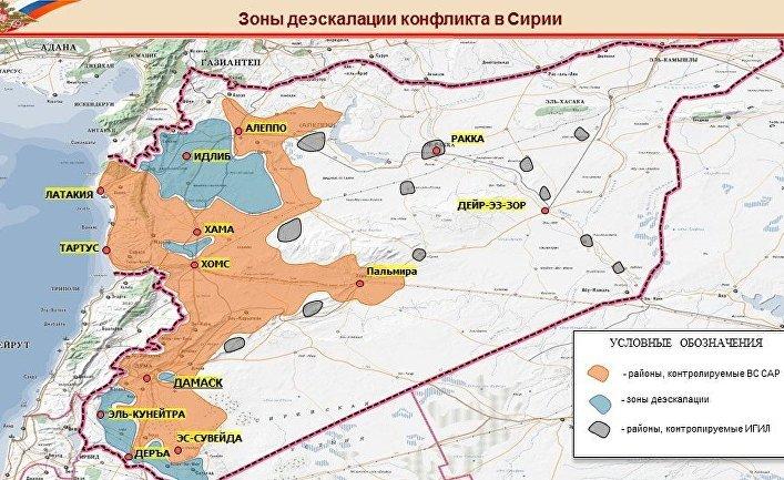 «Деэскалация». Стратегия России по разрешению сирийского конфликта военным путём