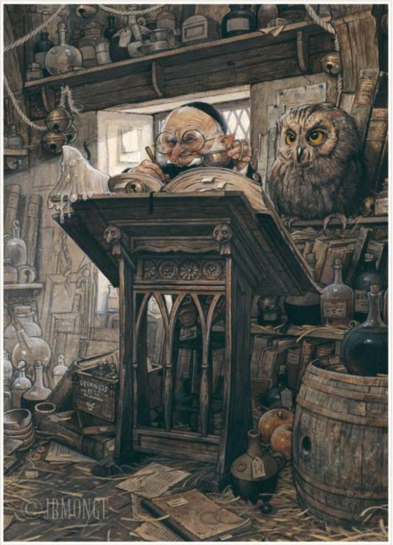 Жан-Батист Монж (Jean-Baptiste Monge) - В поисках волшебного мира