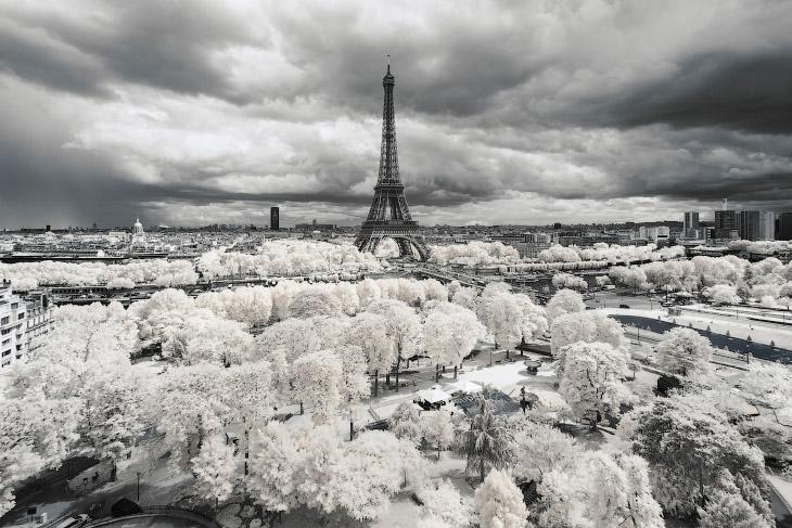 Инфракрасные снимки Франции