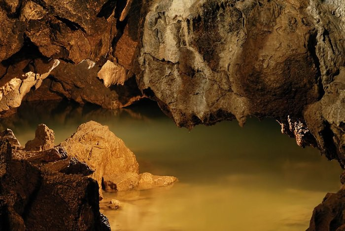10. Кизил-Коба – самая большая пещера в Крыму достопримечательности, крым