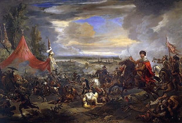 Ян Вик, «Бой у Каленберга», 1683 год (Венская битва)