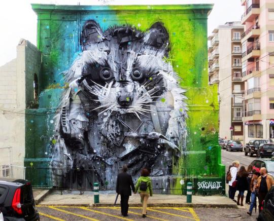2. Белем, Португалия граффити, стрит-арт, художники