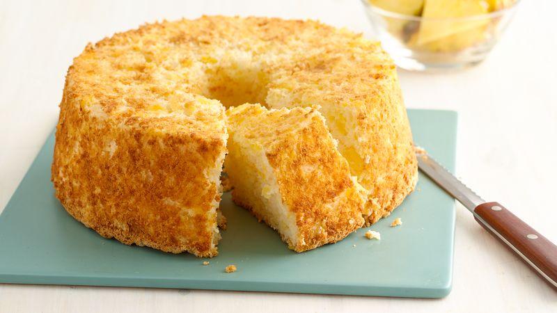 Кекс с консервированными ананасами: рецепты