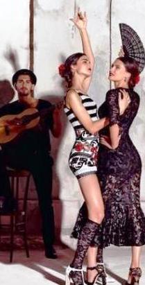 Испанские мотивы в коллекциях Dolce&Gabbana