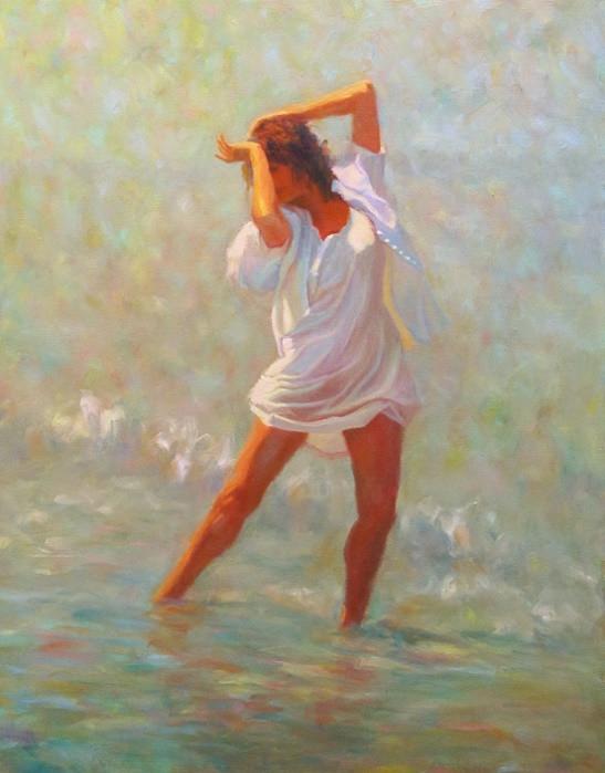 Солнечное лето и танец у моря...