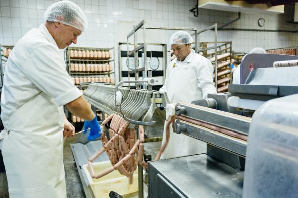 Как делают сосиски как это сделано, сосиски