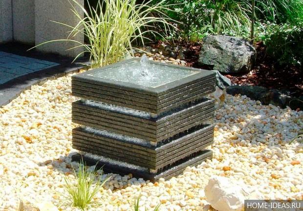 Фото садовых фонтанчиков своими руками
