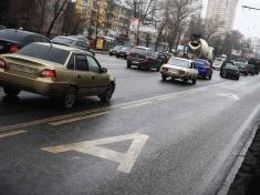 Автобусы будут фиксировать нарушения ПДД на выделенных полосах