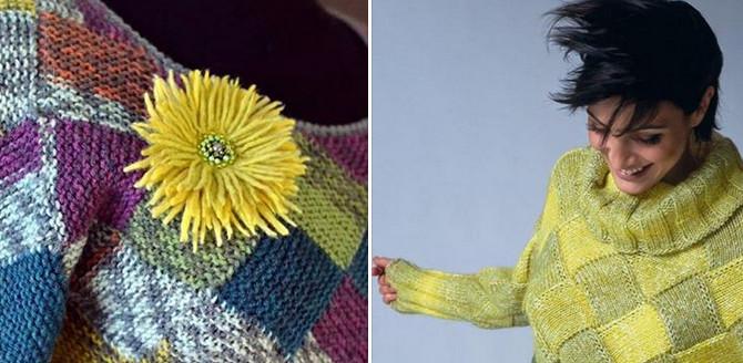 Как сделать вязаную вещь мод…