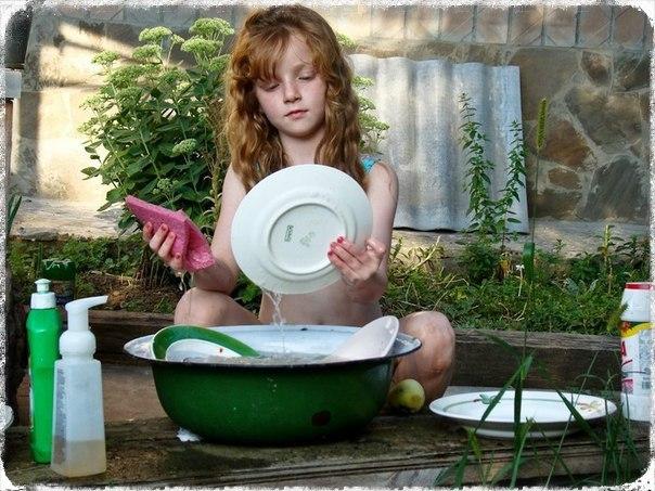 Чем моют посуду в эко-поселениях