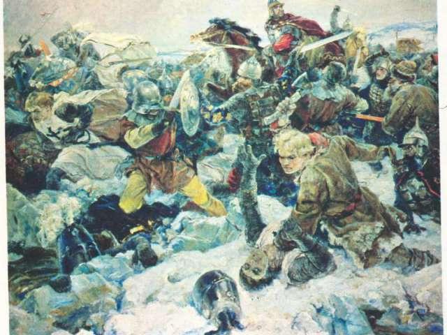 Как Александр Ярославич разгромил немецких рыцарей