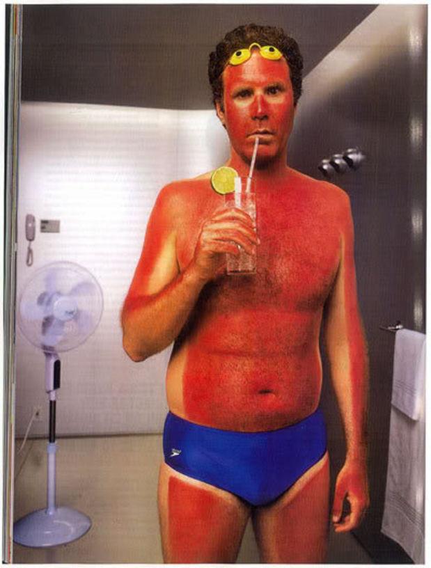 6. Миф: Пока вы не обгораете - рак вам не страшен безопасность, загар, лето, солнце