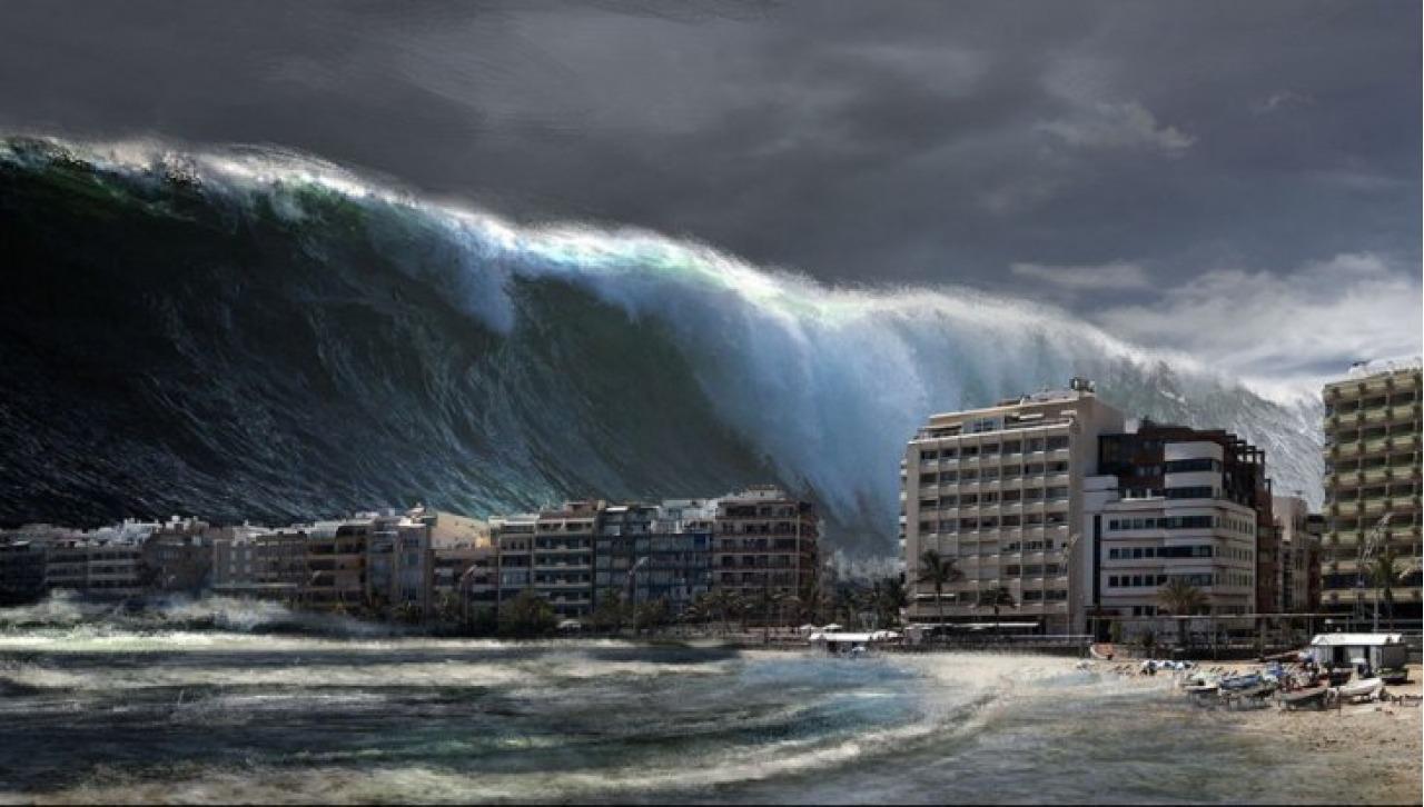 Советский город, смытый в океан